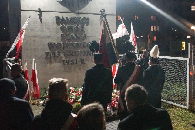 Bełchatów upamiętnił 38. rocznicę wprowadzenia stanu wojennego [FOTO] - Zdjęcie główne