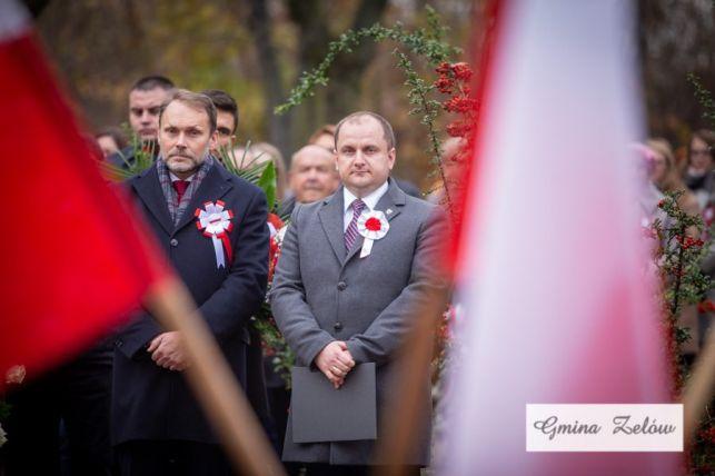 Obchody 101. rocznicy odzyskania przez Polskę niepodległości w Zelowie [FOTO] - Zdjęcie główne