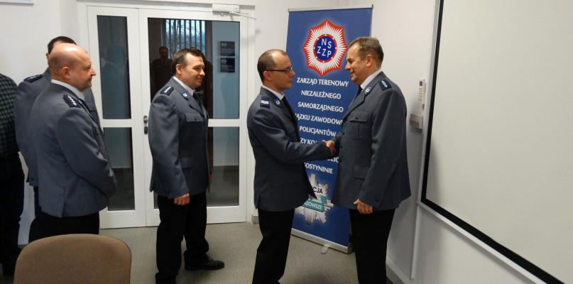 Pożegnanie z policyjnym mundurem - Zdjęcie główne