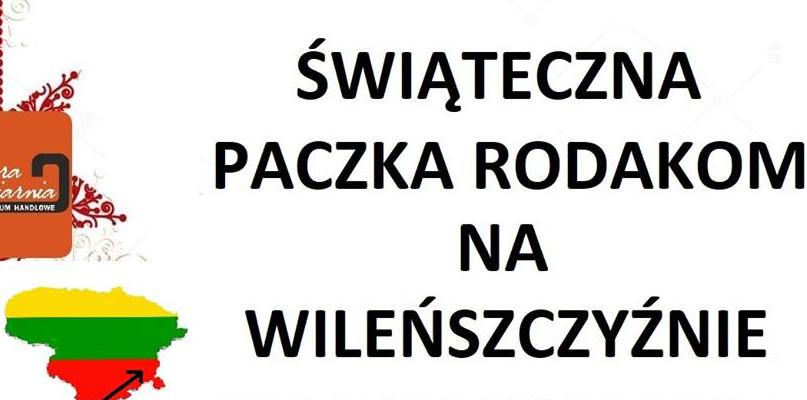 Świąteczna paczka rodakom na Wileńszczyźnie - Zdjęcie główne