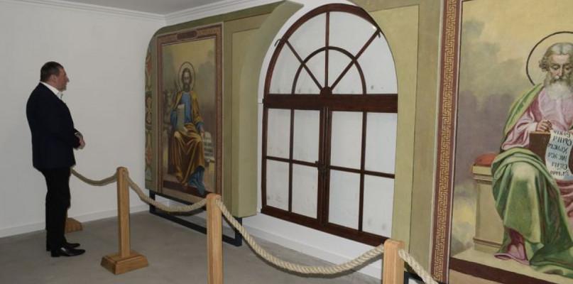 Freski z dawnej cerkwi trafiły na Zamek - Zdjęcie główne