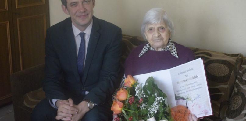 Piękny jubileusz 101 urodzin mieszkanki Gostynina - Zdjęcie główne