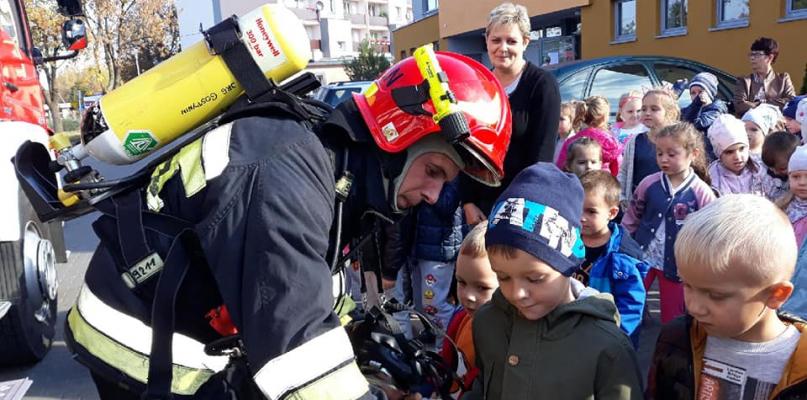 [ZDJĘCIA] Próbna ewakuacja w Przedszkolu nr 4 - Zdjęcie główne