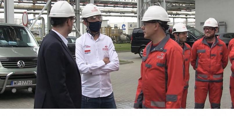 Robert Kubica spotkał się z pracownikami PKN ORLEN [WIDEO] - Zdjęcie główne