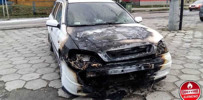 Przy ul. Kościuszkowców płonęło auto - Zdjęcie główne