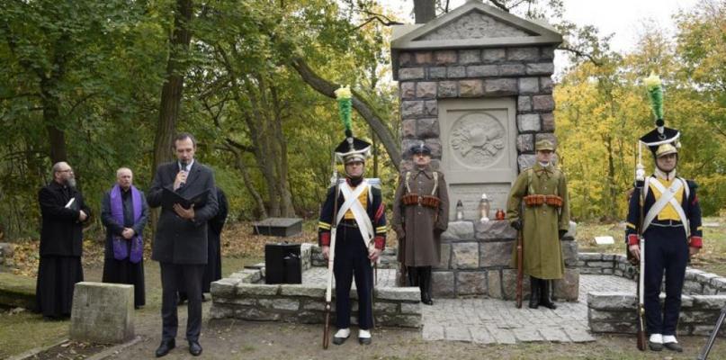 [ZDJĘCIA] W hołdzie żołnierzom poległym w walkach niepodległościowych - Zdjęcie główne
