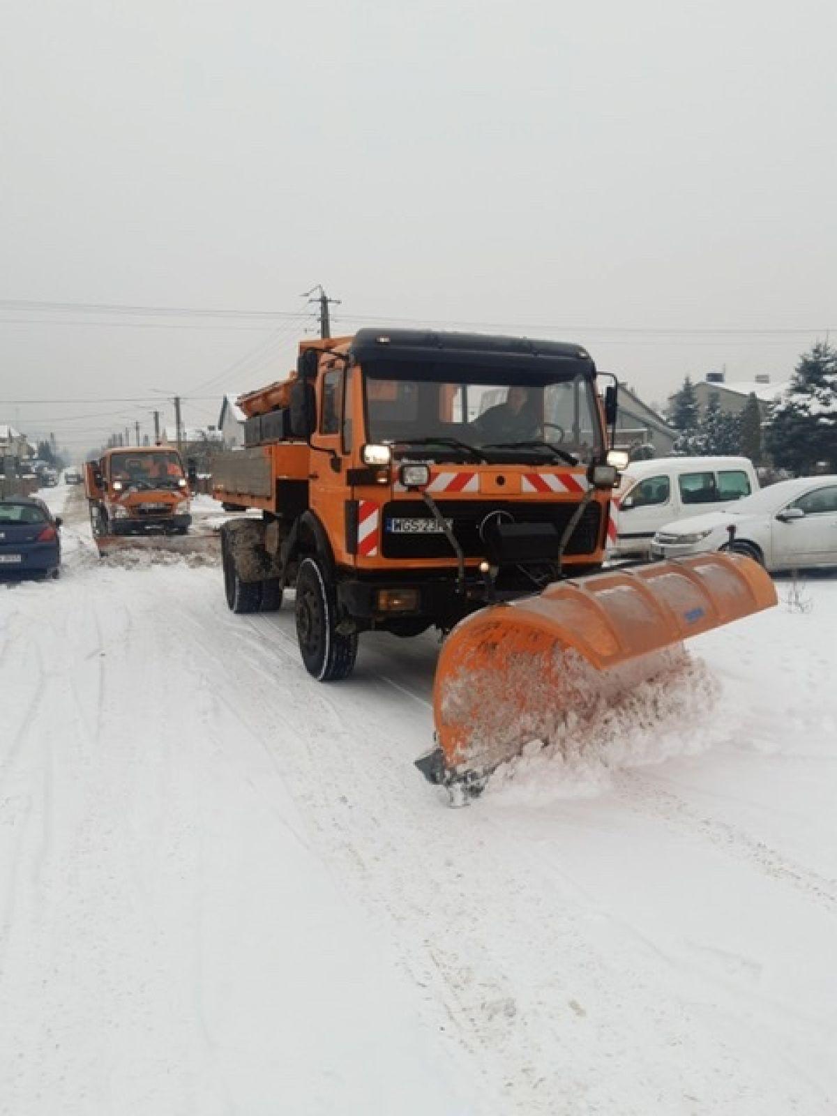 [ZDJĘCIA] Na gostynińskich ulicach trwa akcja Zima - Zdjęcie główne