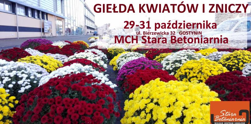 Giełda kwiatów i zniczy w Gostyninie - Zdjęcie główne
