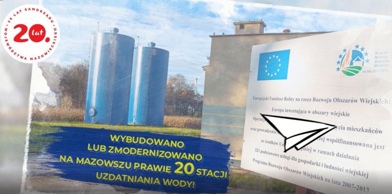 """""""PRO(W)ste historie- 15 lat województwa mazowieckiego w UE""""- stacje uzdatniania wody [VIDEO] - Zdjęcie główne"""