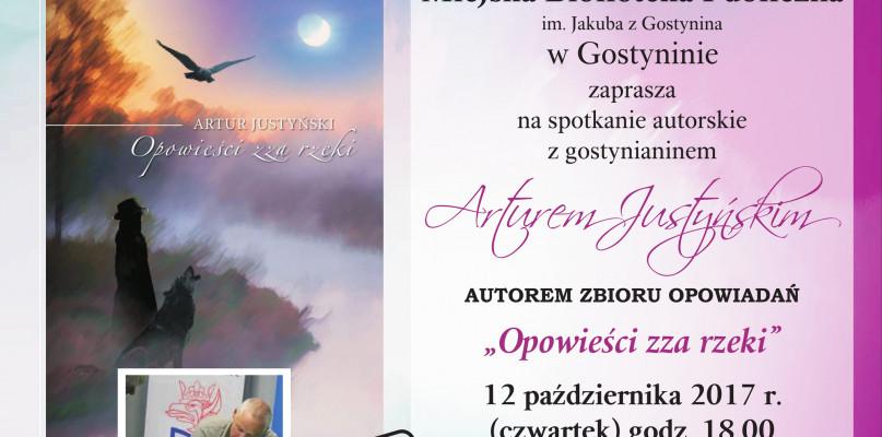 Spotkanie autorskie z Arturem Justyńskim - Zdjęcie główne