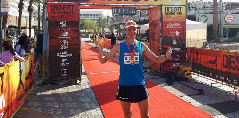 Stanął na podium maratonu w Izraelu, teraz chce pomóc potrzebującym dzieciom - Zdjęcie główne