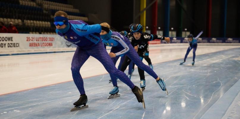 UKS Zwoleń-Team na międzynarodowych zawodach łyżwiarskich - Zdjęcie główne