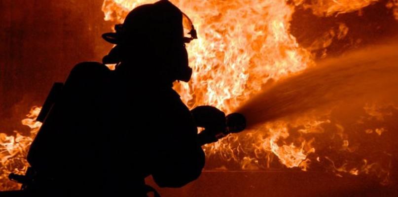 W Helenowie palił się dach - Zdjęcie główne