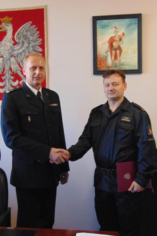 Wyróżnienie dla gostynińskiego strażaka - Zdjęcie główne