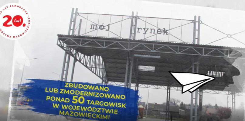 """""""PRO(W)ste historie- 15 lat województwa mazowieckiego w UE""""- targowiska [VIDEO] - Zdjęcie główne"""
