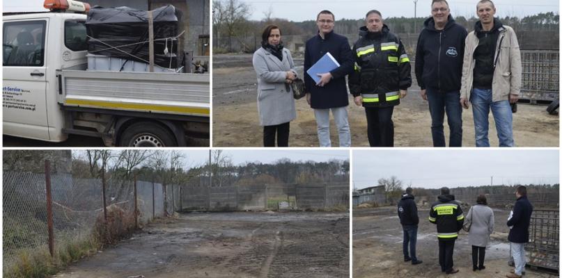 Ul. Ziejkowa uprzątnięta. Chemikalia trafiły do Gdańska [ZDJĘCIA] - Zdjęcie główne