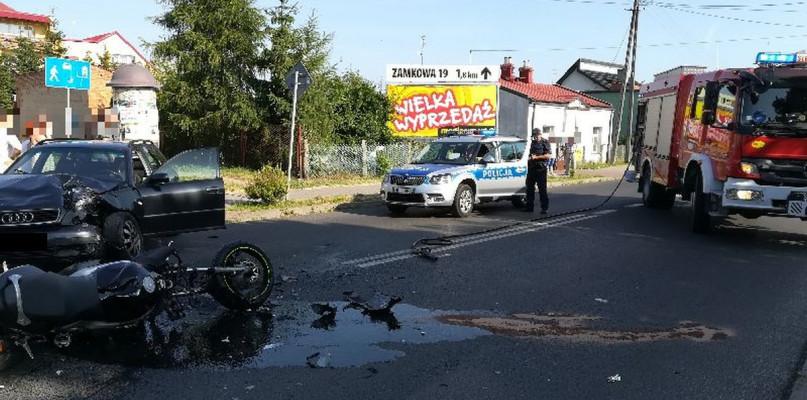 Tragiczny wypadek na Kutnowskiej. Nie żyje motocyklista - Zdjęcie główne