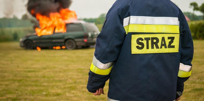 Spłonęły dwa auta - Zdjęcie główne