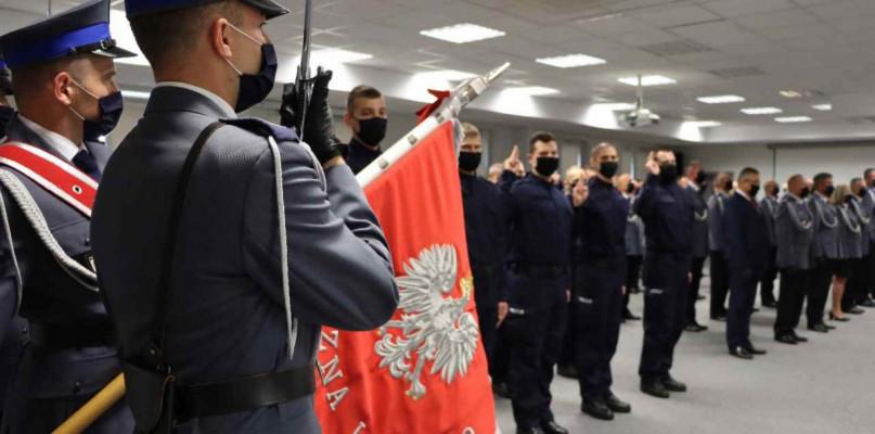 Policjanci odznaczeni. Nie zabrakło komendanta z Gostynina - Zdjęcie główne