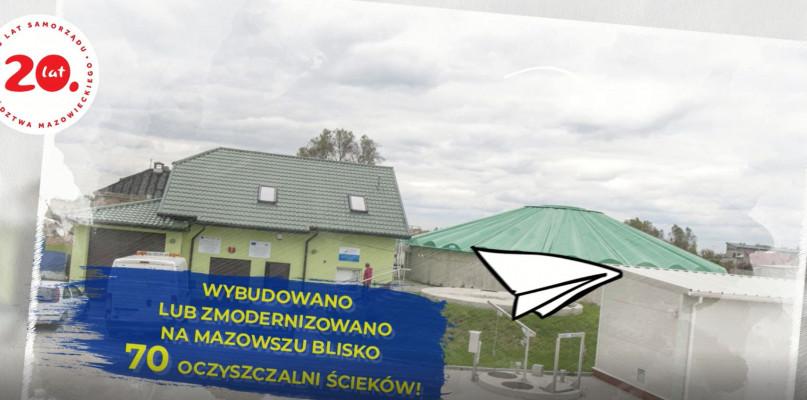"""""""PRO(W)ste historie- 15 lat województwa mazowieckiego w UE""""-oczyszczalnie [VIDEO]  - Zdjęcie główne"""