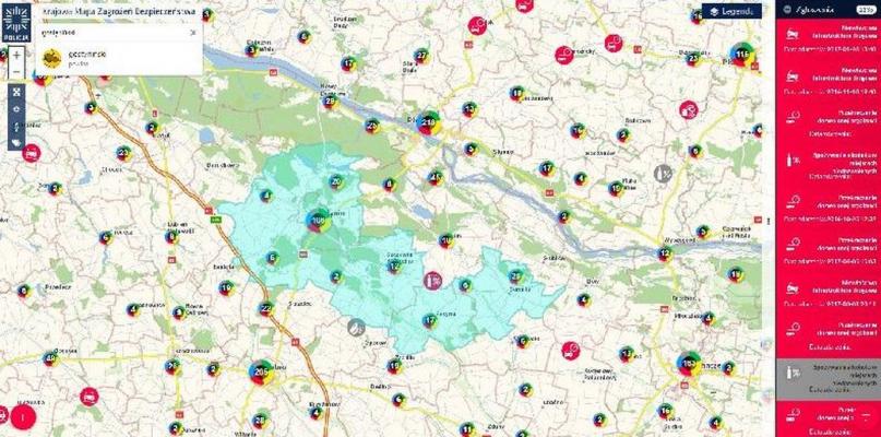Minęły dwa lata funkcjonowania Krajowej Mapy Zagrożeń Bezpieczeństwa - Zdjęcie główne
