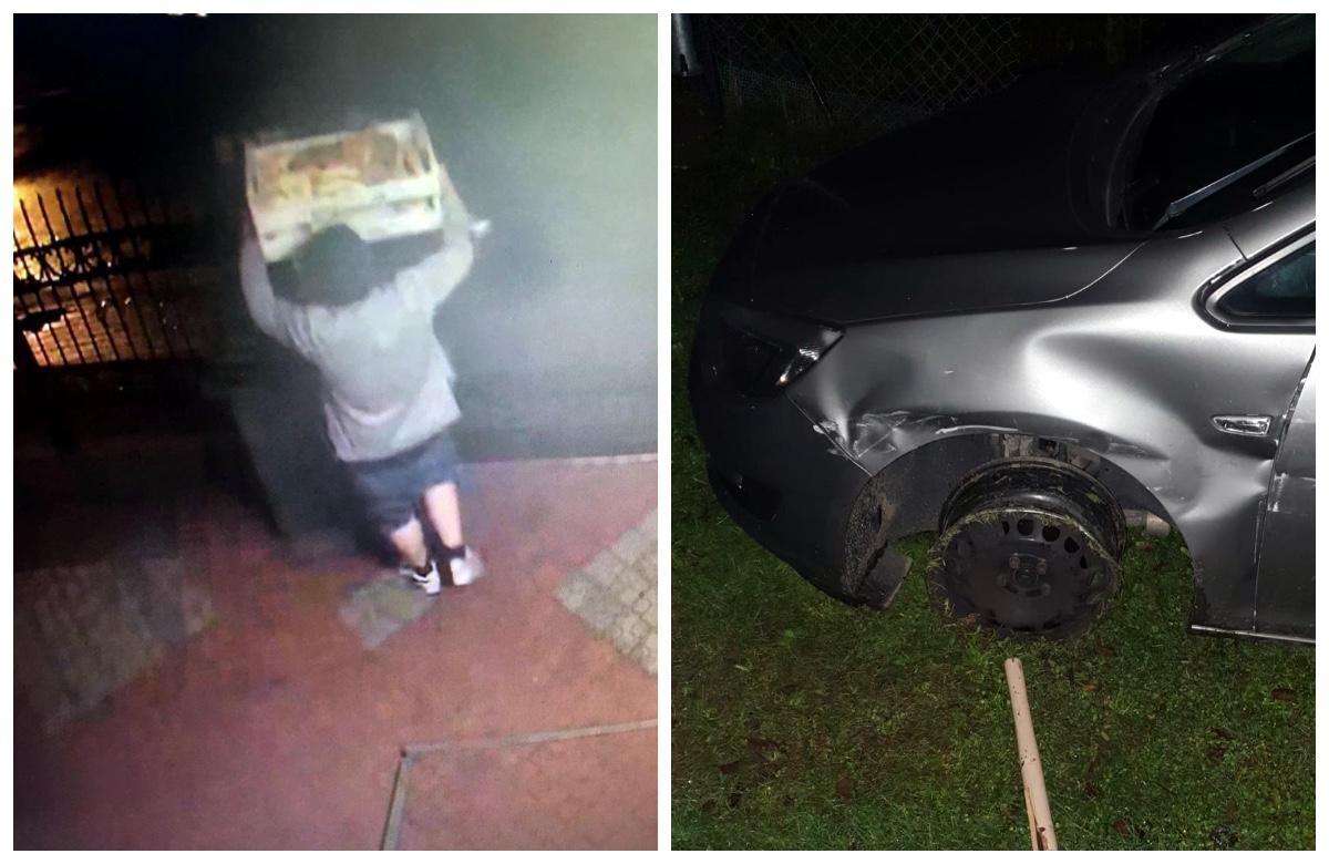 Rozbił wypożyczone auto, zgłosił jego kradzież, a na koniec zgłodniały ukradł drożdżówki. Wpadł - Zdjęcie główne