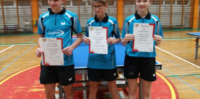 Gostynińscy tenisiści wywalczyli awans do ogólnopolskiego turnieju - Zdjęcie główne