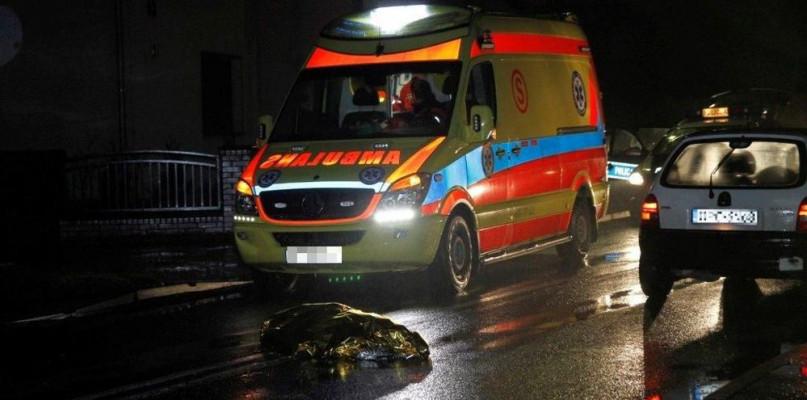 Śmiertelne potrącenie z udziałem mieszkanki powiatu gostynińskiego - Zdjęcie główne
