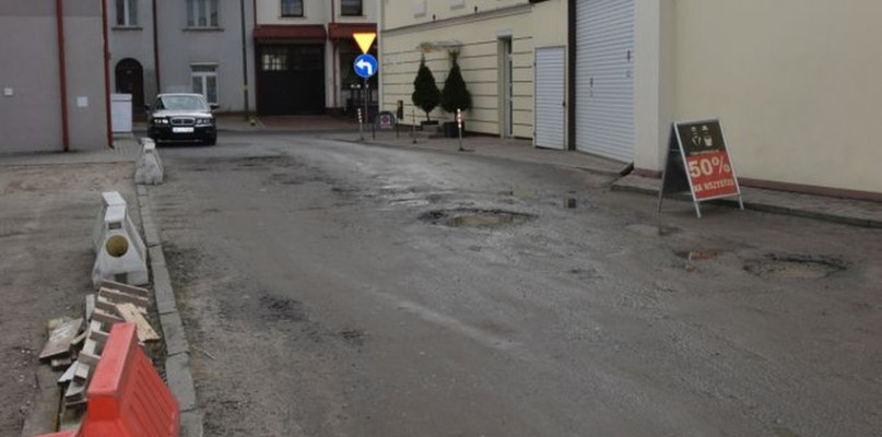Rusza budowa ul. Kujawy - Zdjęcie główne