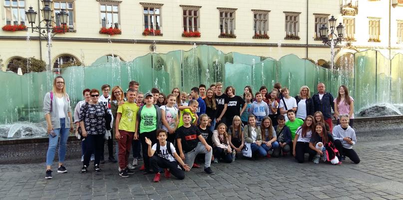[ZDJĘCIA] Uczniowie SP nr 3 z wizytą na Dolnym Śląsku - Zdjęcie główne