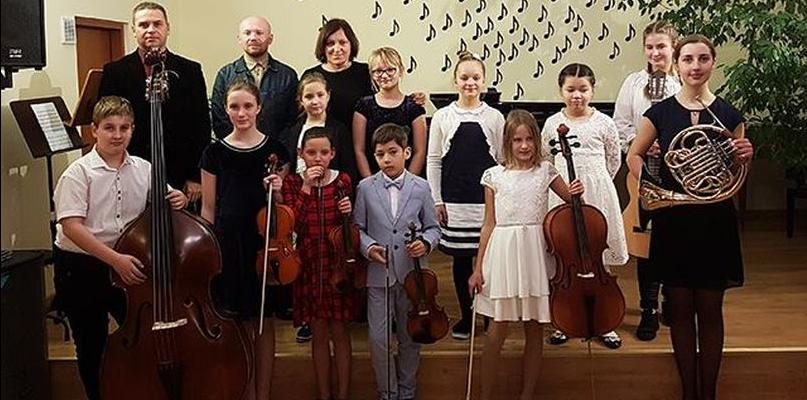 Popisowy koncert w Miejskiej Szkole Muzycznej - Zdjęcie główne