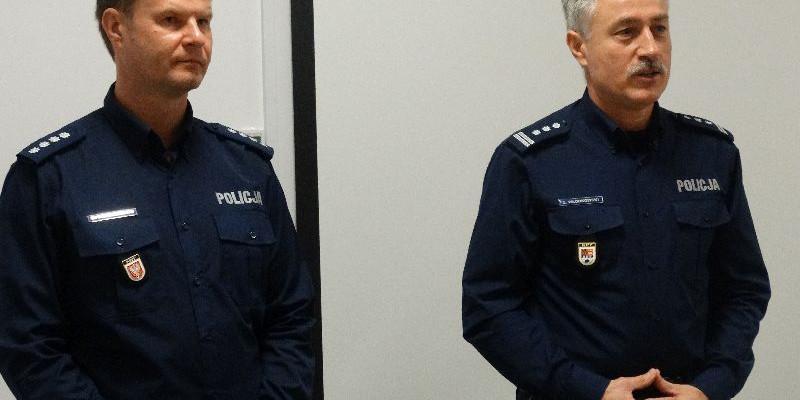 Nowy zastępca komendanta oficjalnie powitany - Zdjęcie główne
