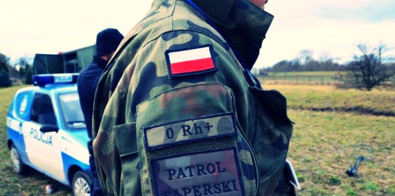 Saperzy pod Szczawinem: na posesji znaleziono granat - Zdjęcie główne