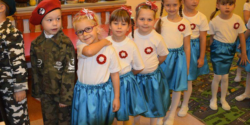 Przedszkolaki świętowały Dzień Niepodległości [ZDJĘCIA] - Zdjęcie główne