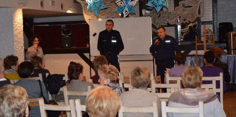 Z seniorami o bezpieczeństwie - Zdjęcie główne