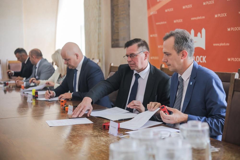 Samorządy z Płocka i okolic podpisały list intencyjny. Chodzi o lepsze pozyskanie środków unijnych - Zdjęcie główne