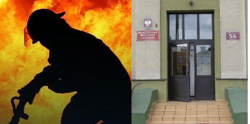 Strażak podpalił salon sukien ślubnych! - Zdjęcie główne