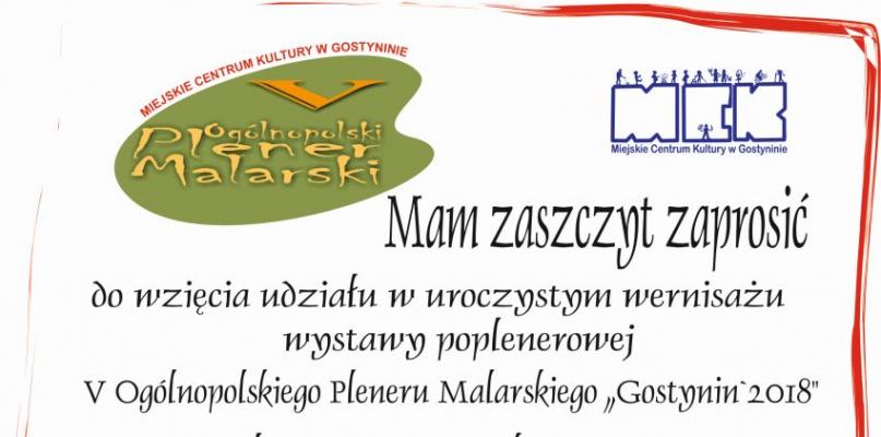 Przyjdź na Ogólnopolski Plener Malarski - Zdjęcie główne