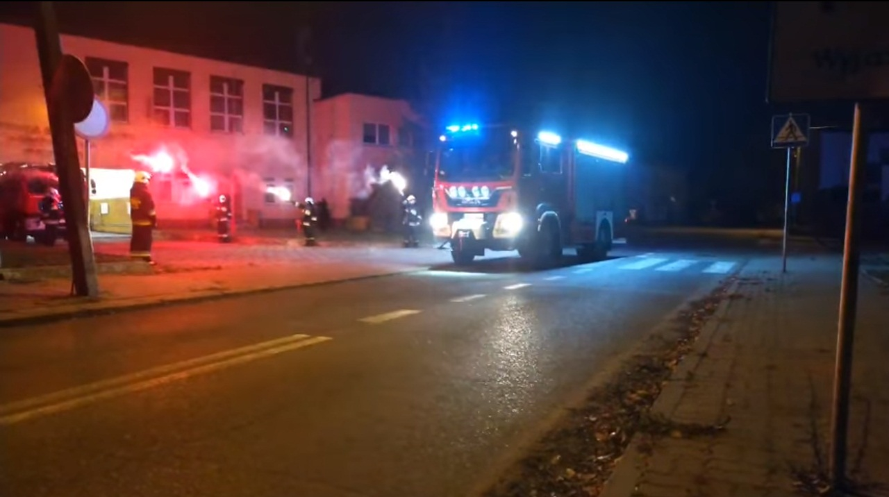 [WIDEO] Święto i płonące race w Krośniewicach. Strażacy witają nowy wóz - Zdjęcie główne