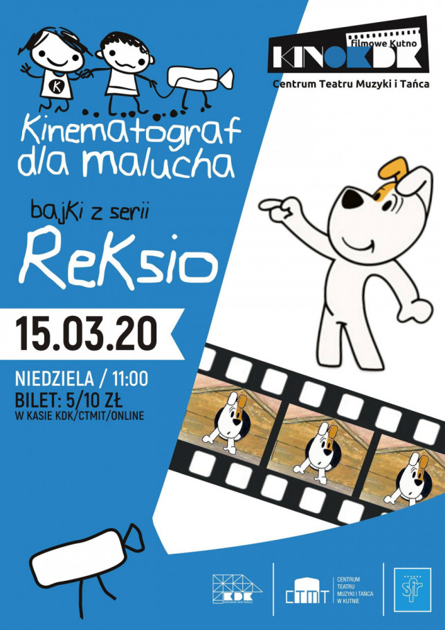 Kinematograf dla Malucha - Reksio - Zdjęcie główne