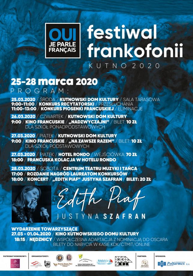 Festiwal Frankofonii: Koncert Justyna Szafran - Edith Piaf - Zdjęcie główne