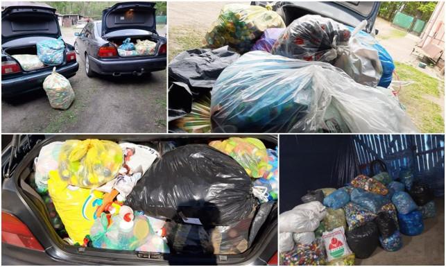 [ZDJĘCIA] Miłośnicy BMW mają wielkie serca. Zebrali dla Wojtusia ponad 2 tony nakrętek! - Zdjęcie główne