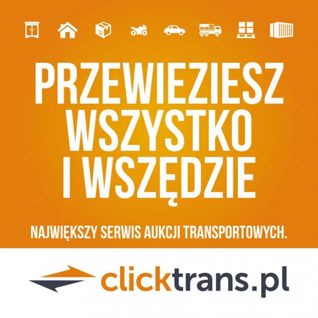 Sposób na bezpieczny transport w Kutnie z Clicktrans.pl! - Zdjęcie główne