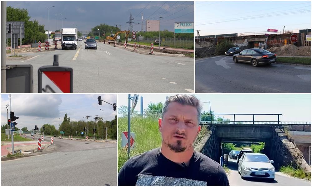 [WIDEO] Zamknięcie wiaduktu i drogowy paraliż w Kutnie. Urząd Miasta: nie mamy wpływu na te decyzje - Zdjęcie główne