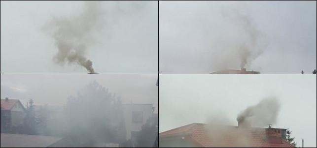 Pocztówka z Kutna: Kłęby gęstego dymu i smród z kominów  - Zdjęcie główne