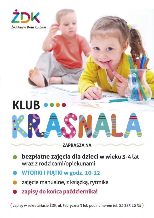 """Przystąp do """"Klubu Krasnala"""" - Zdjęcie główne"""