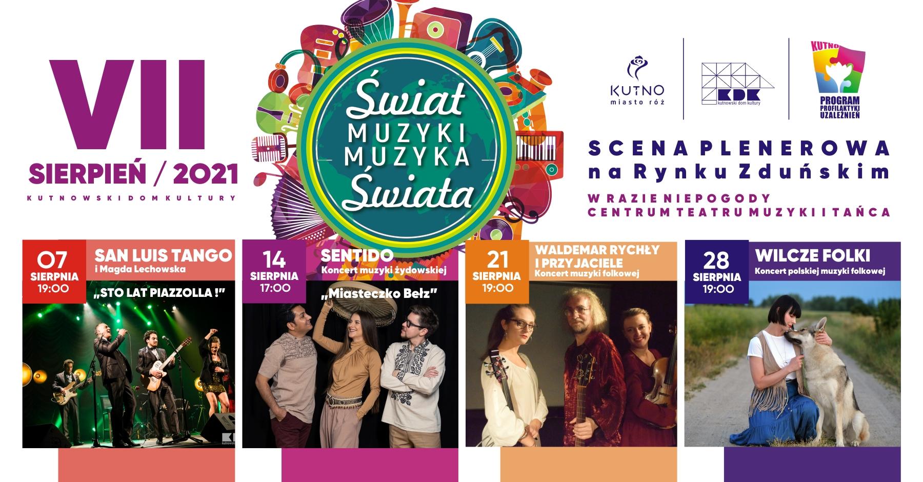 """Muzyczne wydarzenie w centrum Kutna. Wraca Festiwal """"Świat Muzyki Muzyka Świata"""" - Zdjęcie główne"""
