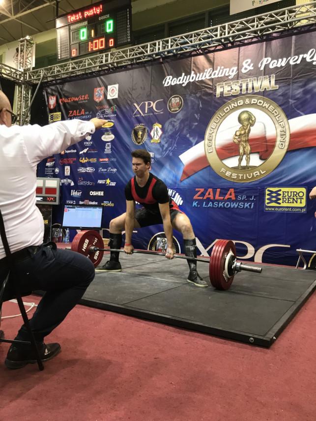 Sukces młodego powerliftera z Kutna - Zdjęcie główne