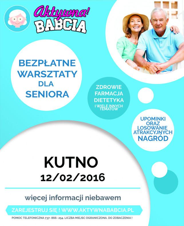 BEZPŁATNE WARSZTATY dla Seniora AktywnaBabcia.pl - Zdjęcie główne