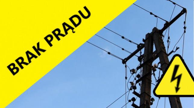 Mieszkańcy bez prądu. Usuwanie awarii potrwa do wieczora - Zdjęcie główne